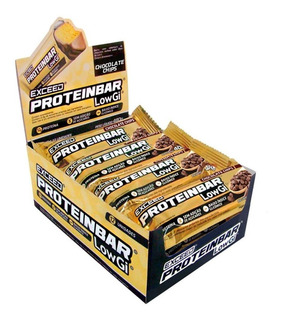 Exceed Protein Bar Low Gi Caixa - Advanced Nutrition
