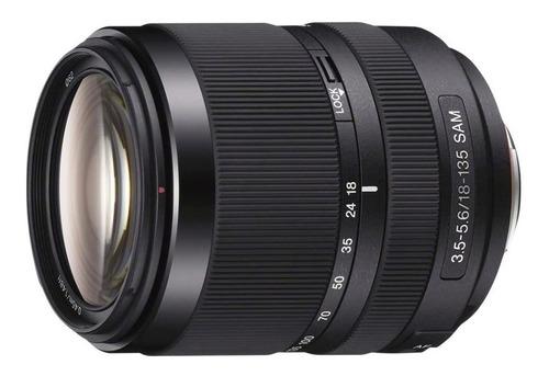 Lente Objetivo Sony Af 18-135/3.5-5.6 Sam