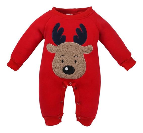 1pc Recém-nascido Infantil Bebê Boy Meninas Natal Alce Lon