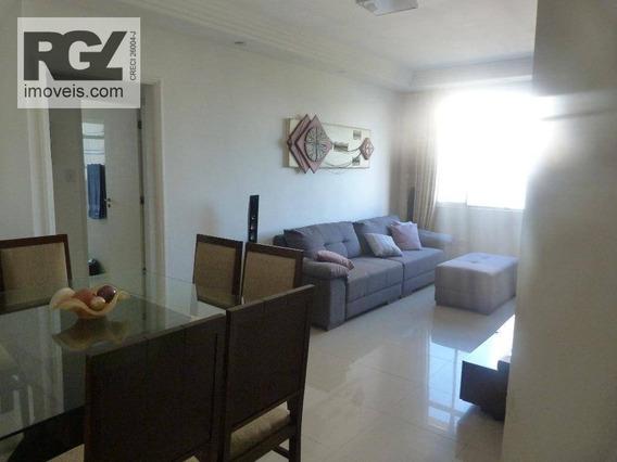 Apartamento Residencial Para Locação, Aparecida, Santos. - Ap4093