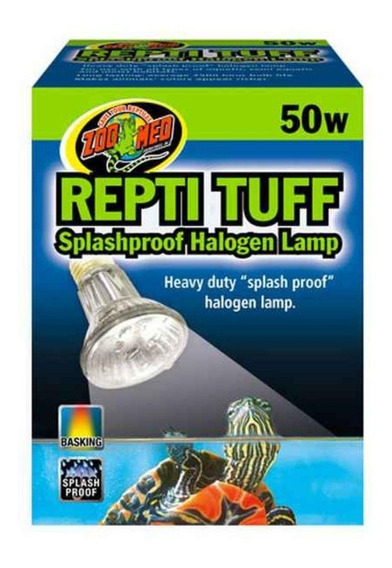 Zoomed Lâmpada Halógena Repti Tuff Oh-50 Para Terrário 50w