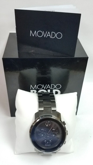 Relógio Movado Bold 3600277 - Seminovo Com Nf