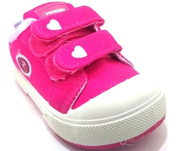 Zapatillas De Bebe Proforce Con Abrojo Art 8400