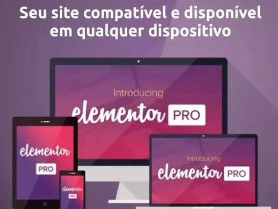 Elementor Pro - Melhor Editor De Site E E-commerce