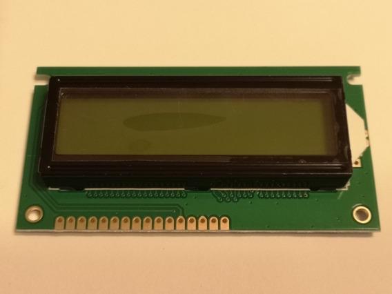 Display 2x16 Com Back Light Verde 84x44