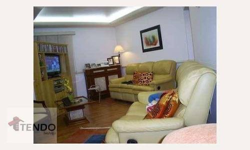 Imagem 1 de 15 de Imob01 - Apartamento 212 M² - Venda - 5 Dormitórios - 2 Suítes - Jardim Do Mar - São Bernardo Do Campo/sp - Ap1645