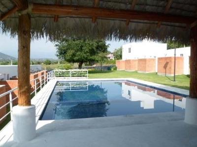 Casa Con Recamaras En Planta Baja En Yautepec Morelos