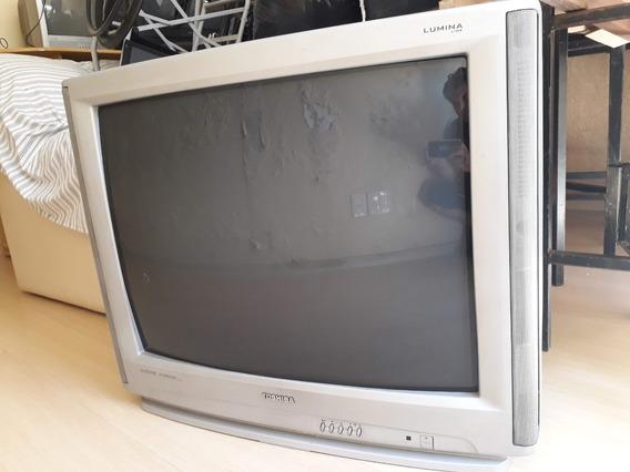 Tv 34 Crt Tubo Toshiba Lumina