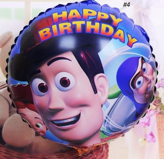 20 Globos Metalicos De Toy Story 4 Mod.18 Pulgadas