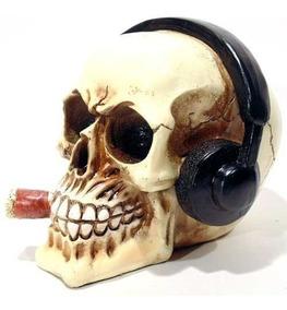 Cranio Caveira Fone De Ouvido Mod 00101