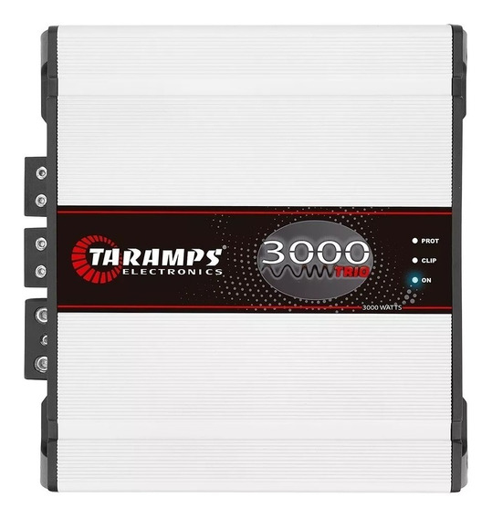 Módulo Taramps Trio 3000 4 Ohms 3000 W Rms+ Brinde