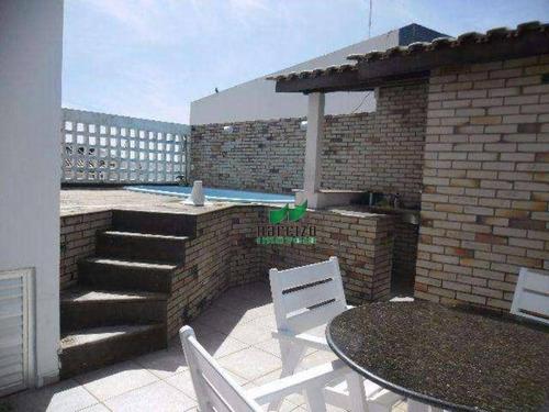 Cobertura Com 8 Dormitórios À Venda, 338 M² Por R$ 850.000,00 - Rio Vermelho - Salvador/ba - Co0002