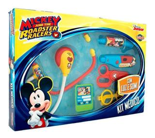 Juguete Set De Doctor Medico Mickey Disney Luz Sonido Promo