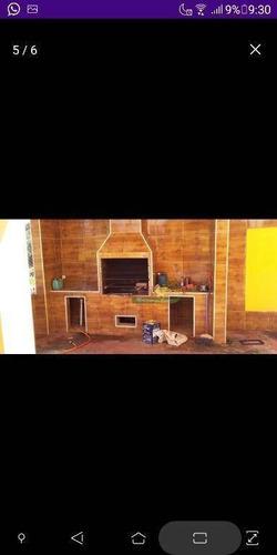 Imagem 1 de 8 de Chácara Com 4 Dormitórios À Venda, 730 M² Por R$ 560.000 - Chácaras Fernão Dias - Atibaia/sp - Ch0589