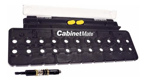Imagen 1 de 3 de Plantilla Para Taladro Entrepaños Moviles Carpintero 1366
