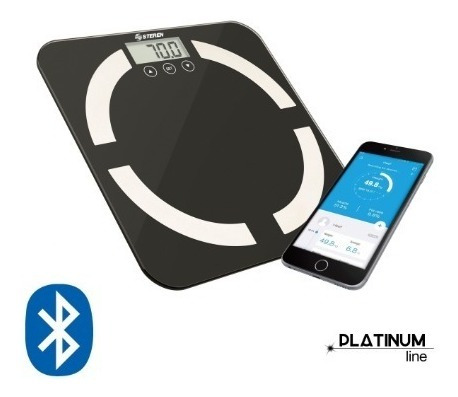 Báscula Digital Inteligente Con Bluetooth Masa Corporal Imc