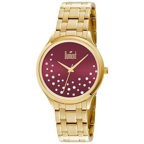 Relógio Dumont Feminino Du2036lst/4n.