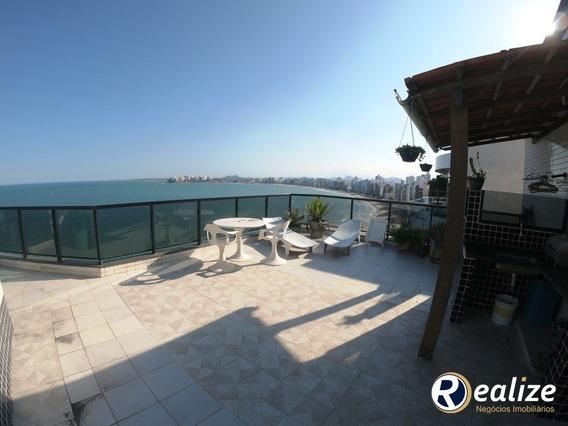 Cobertura Duplex De 398m² De Frente Para O Mar Da Praia Do Morro - Cb00020 - 33959751