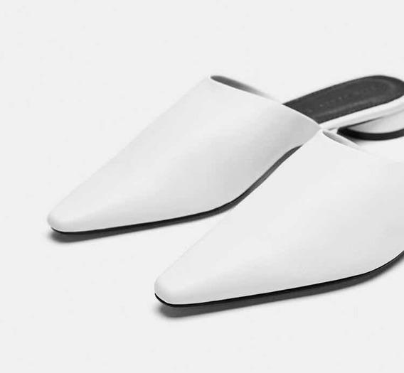 Suecos Zara Nuevos Blancos Talle 37