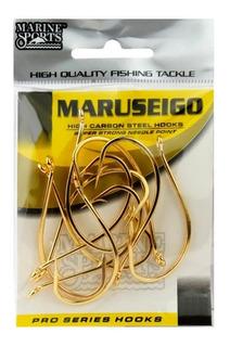 Anzol Marine Sports Maruseigo Gold #20 - Kit 2 Cartelas