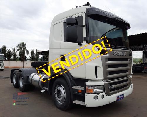 Scania G 420 Ano 2008/09 6x2² Ar-condicionado
