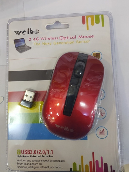 Mouse Sem Fio Rio Cristal