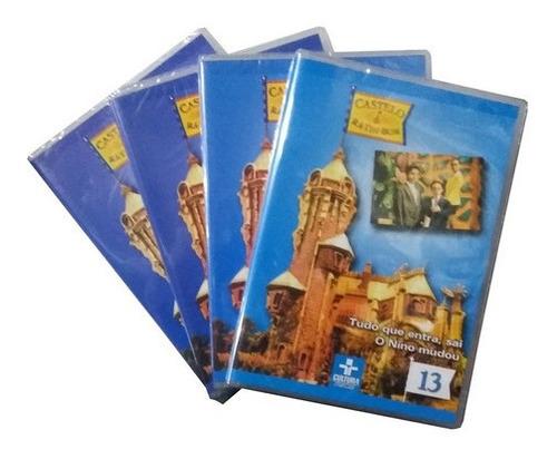 Imagem 1 de 2 de Box Dvd Original Castelo Ra Tim Bum - Série 4 + Brinde