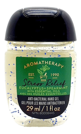 Gel Antibacterial Bath & Body Works Eucalyptus + Spearmint