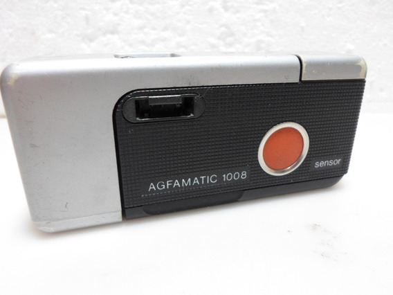 Maquina/camera Fotografica Agfa Agfamatic - 1008 Pocket