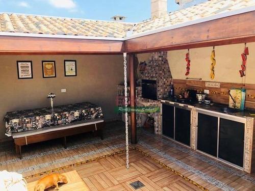 Imagem 1 de 16 de Casa Com 2 Dormitórios À Venda, 70 M² Por R$ 270.000,00 - Jardim Marcondes - Jacareí/sp - Ca6232