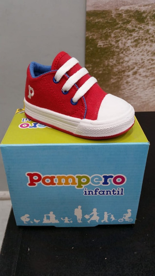 Zapatillas Pampero Caminantes. Talle 17 Al 21