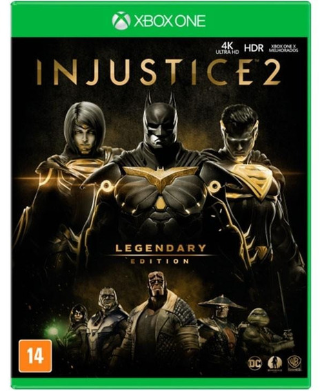 Injustice 2 Legendary Edition Xbox One Lacrado Mídia Física