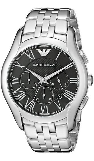 Relógio Emporio Armani Ar1786 Dress Silver Watch
