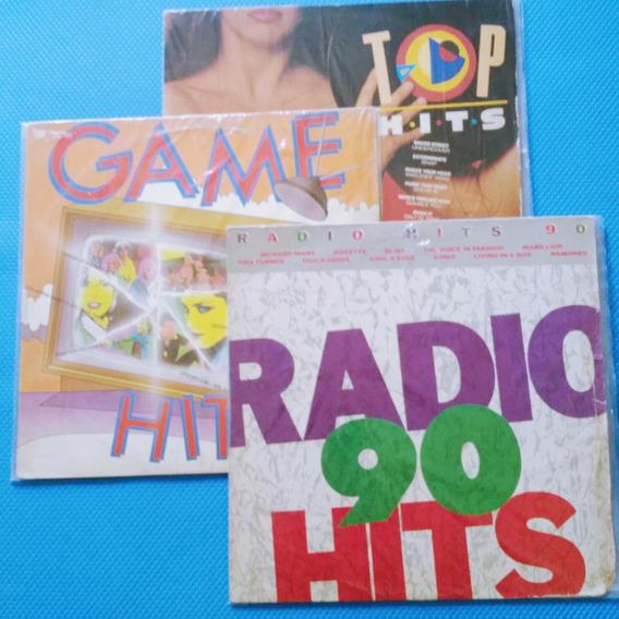 Lote Lp 3 Discos Coletânea 1
