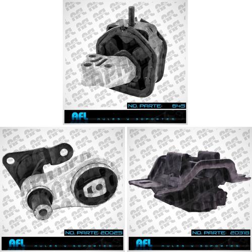 Imagen 1 de 4 de Juego De Soporte Ford Fiesta Motor Transmision