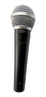 Microfono Vocal Sn58 Cardioide Dinamico Con Cable