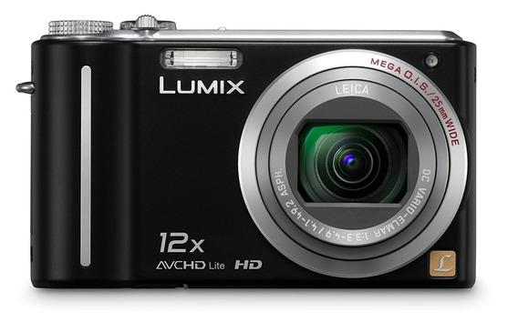 Camera Digital Panasonic Lumix Dmc Zs3 10.1mp 12x Zoom Ótico