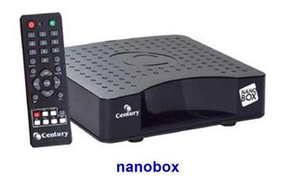 Receptor Analógico De Tv Nanobox Century + Lnbf Mulitponto