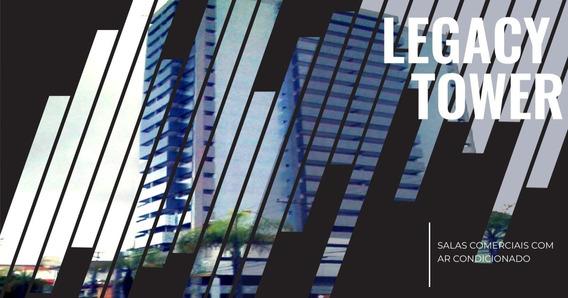 Sala Comercial Para Alugar Em Santos - Legacy Tower - Sl223 - 33602221