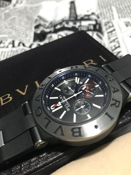 Relógio Masculino Luxo Analógico+caixa+frete Gratis!