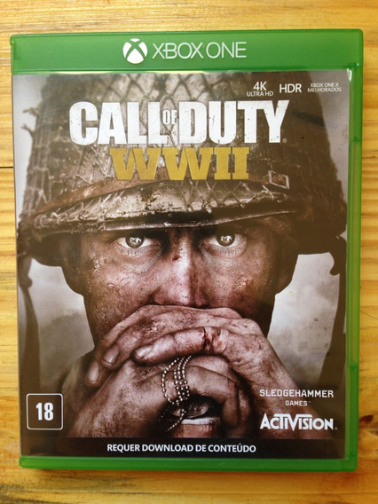 Call Of Duty Wwii Xbox One Nacional Usado