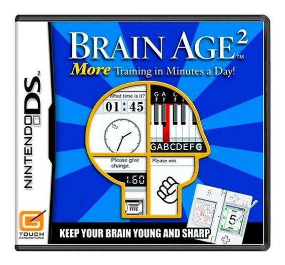 Brain Age 2 Train Your Brain In Minutes A Day Ds Física