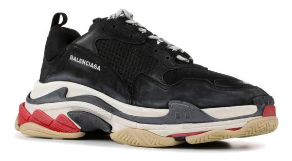 Zapatillas Balenciaga Triple S Negro Blanco