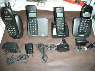 04 Aparelhos De Telefone Sem Fio - No Estado.