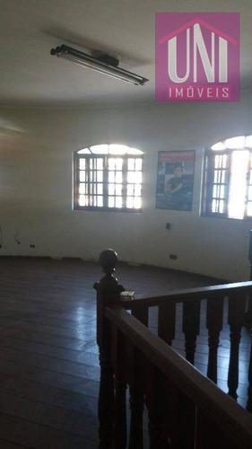 Salão Comercial À Venda, Parque Novo Oratório, Santo André. - Sl0019