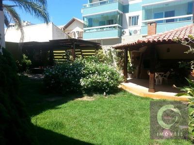 Casa Residencial Para Venda E Locação, Lagoa, Macaé. - Ca0005