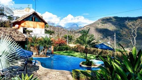Casa Com 3 Dormitórios À Venda, 262 M² Por R$ 1.350.000,00 - Secretário - Petrópolis/rj - Ca0202