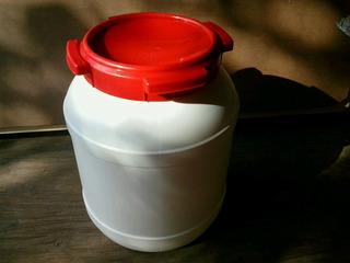 Tarrina,tanque De Plastico Con 20lts De Capacidad..!!