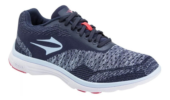 Zapatillas Topper Running Lady Wool Mujer Abc Deportes