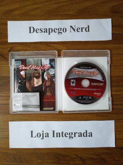Devil May Cry - Jogo Para Ps3 - Mídia Física